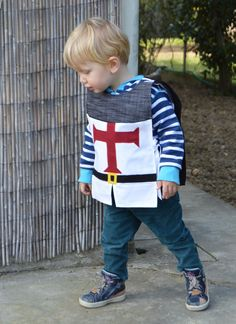 Kid's Crusader Knight Fancy Dress Costume with Cape by TootsAndMe, €38.99