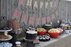 On a Whim: camping birthday party: put a bear on it!