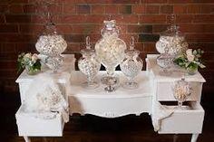 vintage wedding lolly buffet - Google Search