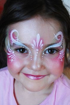 Sweet little princess face  Jasmin Walsh Face & Body Art -  www.pinterest.com/wholoves/Body-Art - #bodyart