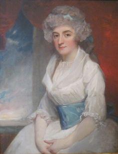 The Athenaeum - Portrait of Lady Elizabeth Haythorne (George Romney - ) 1791
