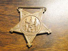 "Civil War GAR Grand Army Of The Republic Veteran Medal - Veteran 1861 - 1866 - 1 3/4"" X 2"" - Great Find! by EagleDen on Etsy"
