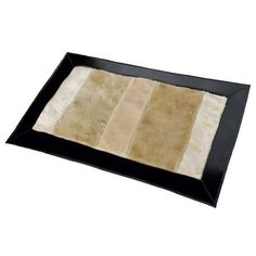 Onitiva - [Truffel Vanille] Patchwork Rugs (19.7 by 31.5 inches)