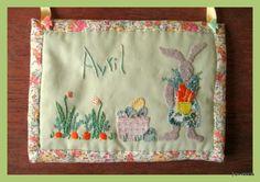 Pâques - Scrap, quilt and stitch - version brodibidouillages et compagnie