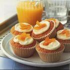 Bolinhos (cupcakes) de laranja
