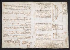 leonardo da vinci notebook 11 The British Library Has Fully Digitized 570 Pages of Leonardo da Vincis Visionary Notebooks