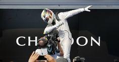 Lewis Hamilton after Hungarian GP 2016