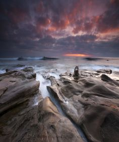 August Skies - La Jolla by Steve Skinner
