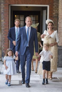 See All the Adorable Photos From Prince Louis's Christening