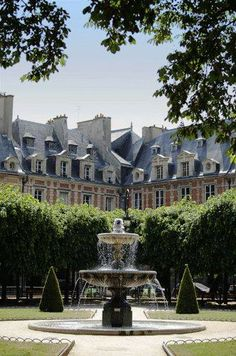 The Essence Of Frenchnes  place des Vosges Paris