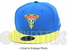 Arizona Diamondacks Coast Blue Lime Yellow Infrared Son of Mars DTRT New Era Fitted Hat