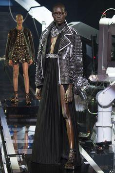 Philipp Plein Spring 2016 Ready-to-Wear Fashion Show - Ajak Deng