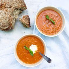 Tomatensoep maken made by ellen