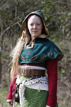 Cos I know the wearer and she has done a really fabulous job on this outfit and because I would love to see the Slavic nation inspired by this.