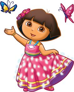 Dora the Explorer Free Printable Toppers and Images Crochet