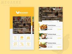 Restaurant Mobile Apps - Mesakke Chicken