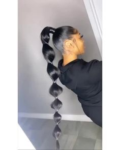 Fake Scalp Full Lace Wig Straight Human Hair wig Probably you realize a locks Big Ponytail, Hair Ponytail Styles, Weave Ponytail Hairstyles, Bubble Ponytail, Sleek Ponytail, My Hairstyle, Straight Hairstyles, Curly Hair Styles, Natural Hair Styles