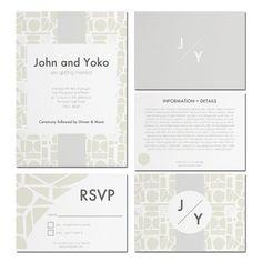 Printable Wedding Invitation DIY Printable Wedding Suite - The Tokyo Suite