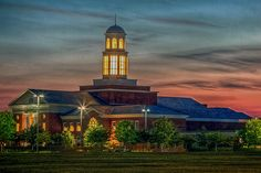 Trible Library at Christopher Newport University