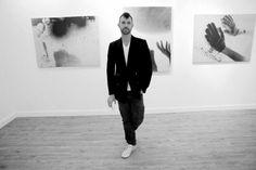 "JEREMY KOST'S ""ALWAYS THE CENTER OF ATTENTION"" EXHIBITION OPENING at Galerie Nuke, Paris  Photo Johanna Lifschutz"