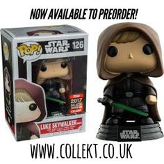 No need to use the force to bag this one - just #preorder today at Collekt.co.uk #starwars #lukeskywalker #starwarsfan #starwarsnerd #geek #nerd #collekt #funko #funkouk #funkopop #funkopops #funkoukcollector #originalfunko #popvinyl #popculture
