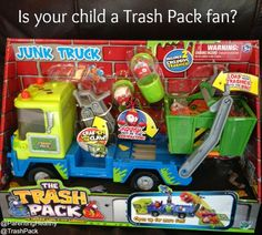 Trash Pack Junk Truck Review from @MooseToys