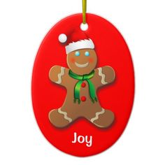 50% OFF ***Black Friday 2014*** Save 50% on Christmas ornaments TODAY ONLY - use coupon code: ZAZBLACKDEAL Expires on Nov. 28, 2014 at 11:59 PM PT Customizable Gingerbread Cookies Christmas Ornaments