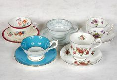 Mom loved her bone china cups - wouldn't drink out of anything else when it came to a hot drink! She said there was nothing better!
