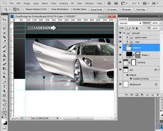 Photoshop tutorial - Créer une interface graphique clean et design avec Photoshop