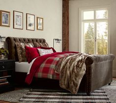 http://www.potterybarn.com/products/chesterfield-upholstered-bed-footboard/?pkey=call-bedroom
