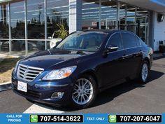 2011 Hyundai GENESIS SEDAN 4 DR Blue $16,888 51511 miles 707-514-3622 Transmission: Automatic  #Hyundai #GENESIS #used #cars #NinoMotors #Vallejo #CA #tapcars