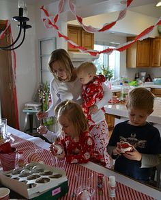 Happy Birthday Jesus party centered around legend of the candy cane from 1pureheart blog