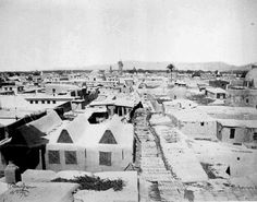 شارع المستقيم أو سوق مدحت باشا ت. بيتر بيرغهام عام 1870/ سوريا