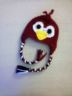 Crochet University of South Carolina Gamecocks Fall College Football Bird Hat for Newborn Baby Toddler and Child Boy or Girl Sc Crochet, Crochet Baby Hats, Crochet Beanie, University Of South Carolina, South Carolina Gamecocks, Go Gamecocks, Baby Gifts To Make, Baby Boy Hats, Animal Fashion