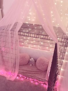 Bunny Cages, Rabbit Cages, Dog Cages, Pet Cage, Pet Bunny Rabbits, Pet Rabbit, Dog Room Decor, Dog Bedroom, Bunny Room