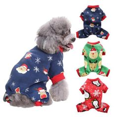 Christmas Santa Claus Pet Sweater Autumn Winter Coat Clothes Apparel for Dog Cat Clothes for Dogs Costumes for a cat Gifts For Pet Lovers, Pet Gifts, Dog Lovers, Cheap Pets, Dog Hoodie, Dog Costumes, Dog Sweaters, Christmas Cats, Pet Portraits