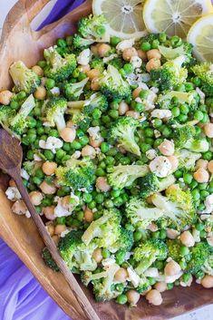 Lemony Broccoli Salad with Chickpeas and Feta-1176