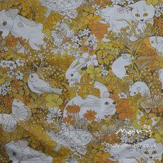 Spot and Friends - Sanderson Vintage fabric by tobit_e, via Flickr
