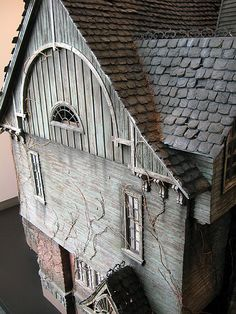 Lemony Snicket house model by bonniegrrl, via Flickr