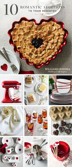 From the big day to every day. At Williams-Sonoma we have the expertise, tools and experience to make registering a piece of cake!