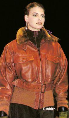 Linda Evangelista - Jean Paul Gaultier Show - AW 1989