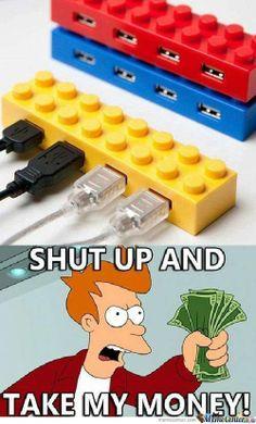 Lego usbs