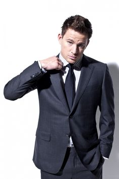 Channing Tatum as Christian Grey??  I think YES!!!!!!!!!