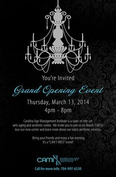 hair salon grand opening flyer