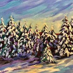 Natalie Bohnen-Twiddy is a renowned Canadian artist with her art studio located at the tett Centre located in Kingston, Ontario. Canadian Artists, Art Studios, Backyard, Winter, Painting, Beans Recipes, Yard, Paintings, Backyards