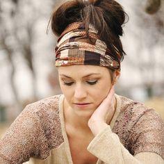 Stylish Mode - Bandana Headband - Dark Brown African Print , $14.00 (http://stylishmode.com/bandana-headband-dark-brown-african-print/)