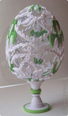 QUILLING Easter Egg