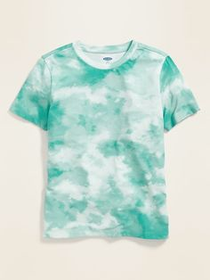 Softest Tie-Dye Tee for Boys Diy Tie Dye Shirts, T Shirt Diy, Bleach Tie Dye, Tye Dye, Teal Tie, Textile Dyeing, Pastel Tie Dye, Shirt Tutorial, Latest T Shirt
