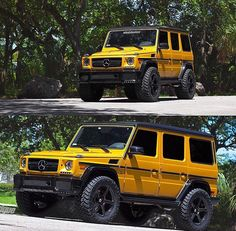 Mercedes G-Wagon on HRE's Mercedes G Wagon Amg, Mercedes Benz G500, Mercedes Benz G Class, Top Luxury Cars, Luxury Suv, Fiat Cars, 2017 Jeep Wrangler, Custom Jeep, Classic Mercedes