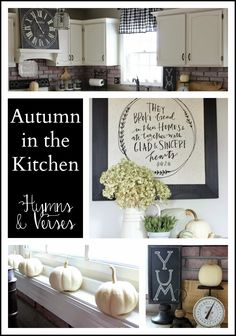 Hymns and Verses: Autumn in the Kitchen